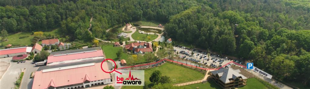 locatie-be-aware-warredal-de-warre-route
